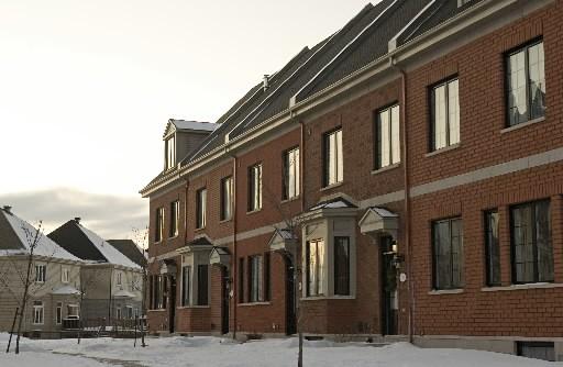 Les Québécois propriétaires de maisons peuvent se réjouir car le secteur... (Photo: Archives La Presse)