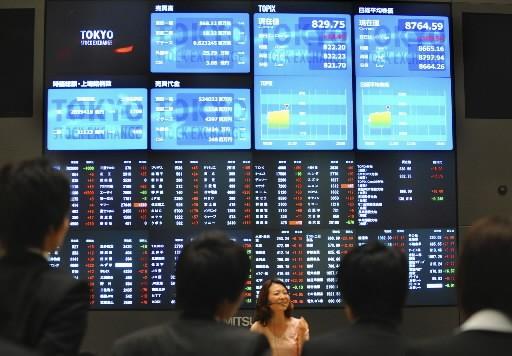 À Tokyo, l'annonce d'un rebond inattendu des commandes... (Photo: Associated Press)