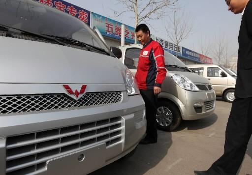 Dans un marché automobile mondial déprimé, la Chine... (Photo: Bloomberg)