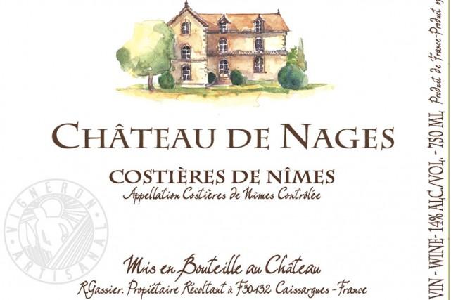 Vin de la vallée du Rhône et d'un grand millésime, le Costières de Nîmes 2007...