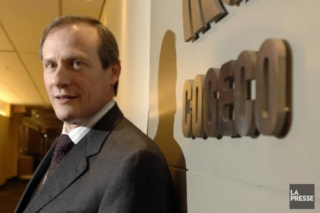 Louis Audet, grand patron de Cogeco.... (Photo: Martin Chamberland, La Presse)
