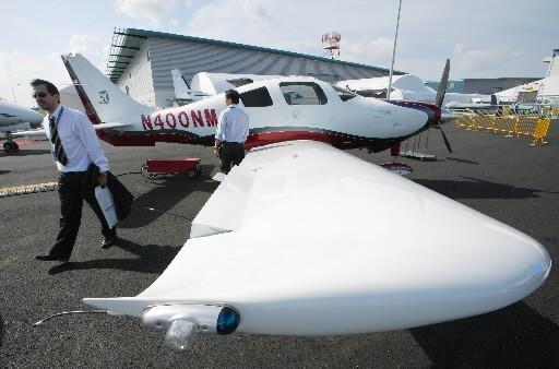 Textron détient notamment la marque de petits avions... (Photo: Bloomberg)