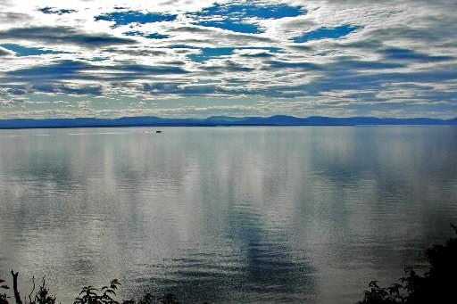 Le lac Témiscouata... (Photo: archives La Presse)