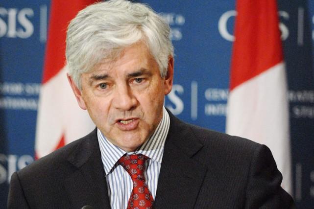 Le ministre des Affaires étrangères, Lawrence Cannon... (Photo: PC)