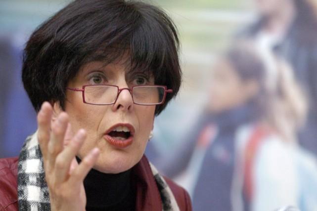 La ministre de l'Éducation, Michelle Courchesne... (Photo: Érick Labbé, Le Soleil)