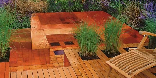 des patios faire r ver lise fournier cour. Black Bedroom Furniture Sets. Home Design Ideas