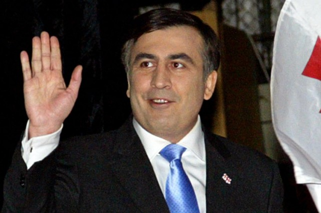 Mikheïl Saakachvili... (Photo: AFP)