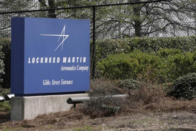 L'usine de Lockheed Martin, à Marietta en Géorgie.... (Photo: AP)