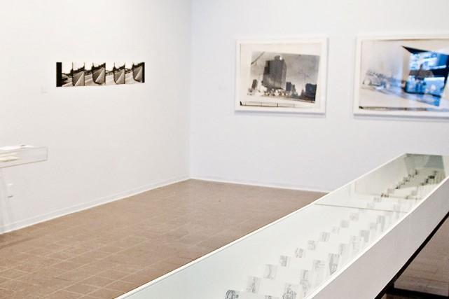 La Galerie Vox présente une exposition sur le... (Photo: Patrick Sansfaçon, La Presse)