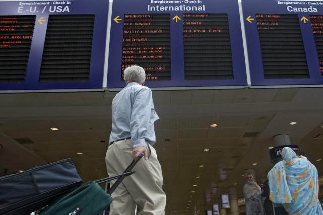 Transports Canada a annoncé que la sécurité dans les zones sécurisées des... (Photo: Patrick Sanfaçon, Archives La Presse)
