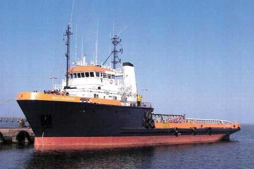 Le navire attaqué samedi, le Buccaneer.... (REUTERS/Micoperi Marine Contractors)