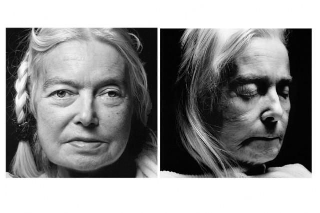 Le photographe allemand Walter Schels et la journaliste...