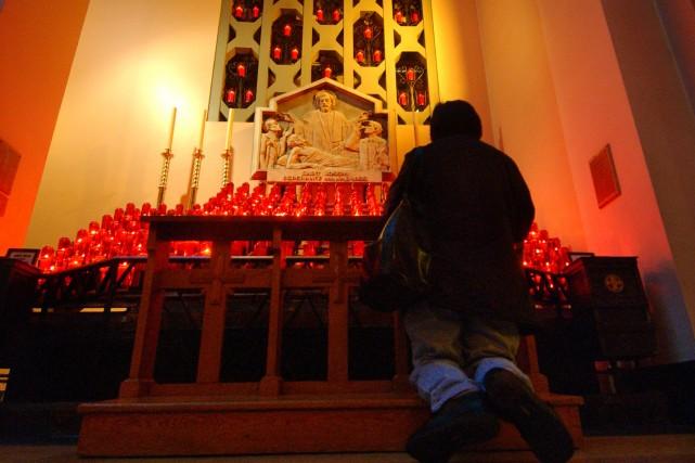 Au diocèse de Montréal, en 2007, seulement 7039 personnes ont été confirmées,... (Photo: Patrick Sanfaçon, Archives La Presse)