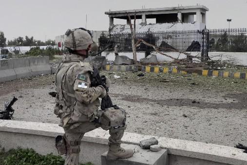 Au moins six civils ont été tués par... (Photo: AP)