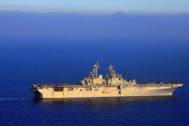 Pirate Hunters : USN sera tourné à bord des... (Photo: Reuters)