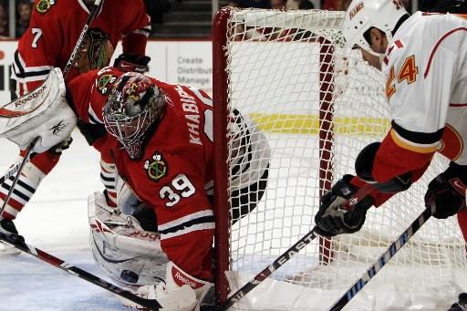 Les Flames de Calgary font preuve d'un optimisme renouvelé au moment d'amorcer... (Photo: AP)
