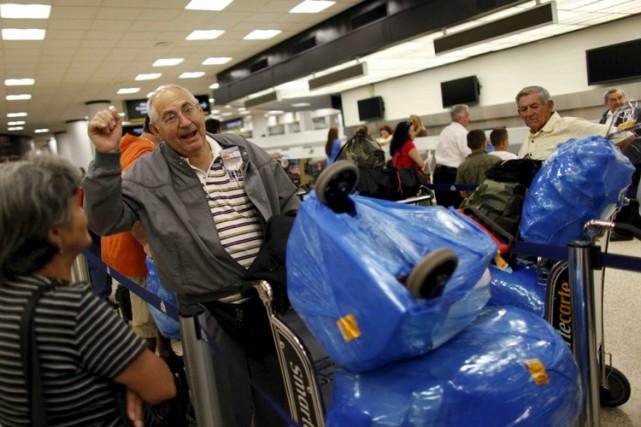 Les Américains d'origine cubaine pourront désormais voyager à... (Photo: Reuters)