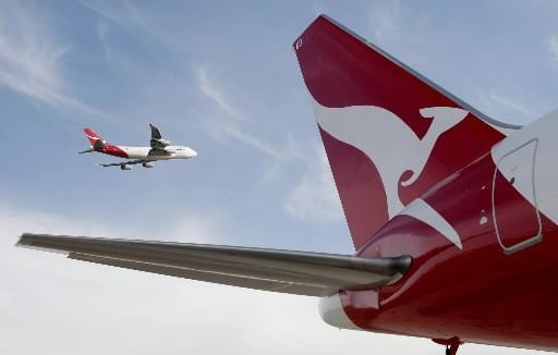 La compagnie aérienne australienne a révisé à la baisse ses prévisions de... (Photo: Associated Press)