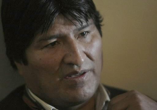 Evo Morales lors de sa grève de la... (Photo: Reuters)