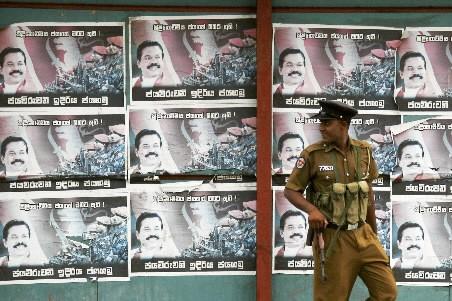 Un militaire sri lankais.... (Photo: Reuters)