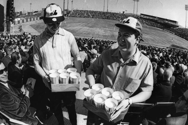 Devant 29 184 partisans, les Expos ont défait... (Photo: Archives La Presse)