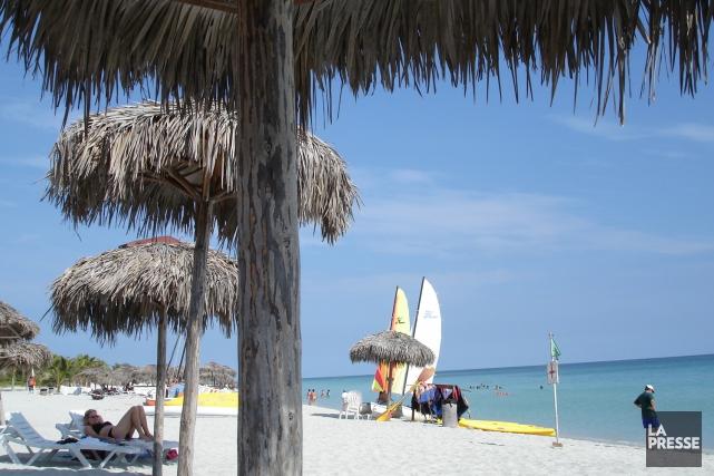 Varadero, à Cuba.... (PHOTO MARTIN CHAMBERLAND, ARCHIVES LA PRESSE)