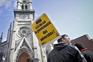 Le Syndicat des professeurs de l'UQAM  (SPUQ)... (Photo: Patrick Sanfaçon, La Presse)