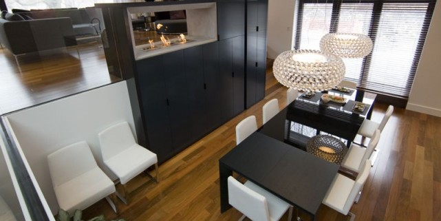 La maison à demi-niveaux se prête bien à... (Photo David Boily, La Presse)