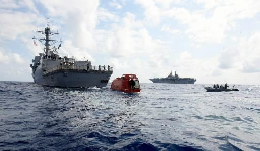 Des conditions météorologiques propices aux attaques des bateaux par des... (Photo: AP)
