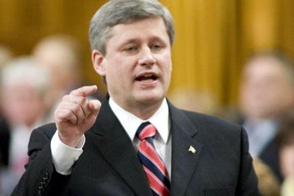 Stephen Harper... (Archives Presse Canadienne)