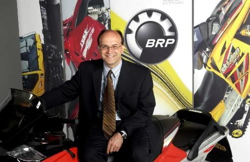 José Boisjoli, PDG de BRP...