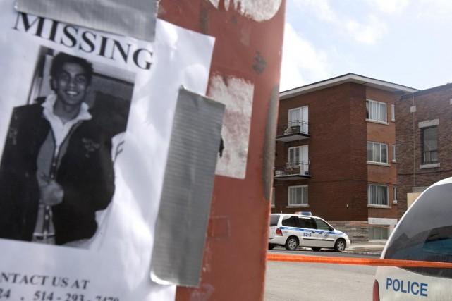 Le corps de Shane Jimrattie a été retrouvé... (Archives La Presse)