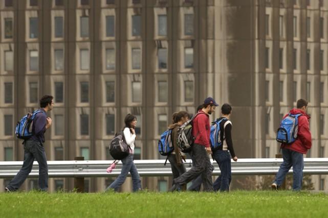 Les Canadiens qui étudient au Québec vont payer leur scolarité plus cher dès... (Photo: Ivanoh Demers, La Presse)