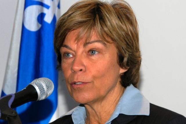 Louise Beaudoin est la porte-parole du Parti québécois... (Photo: Sylvain Dufour, Le Quotidien)