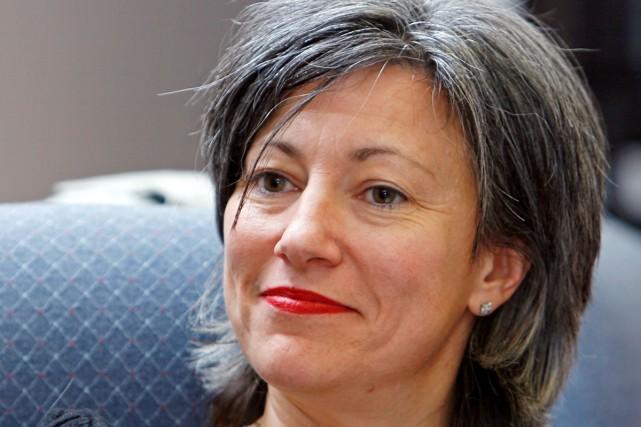 Solange Drouin, directrice générale de l'ADISQ.... (Photo: Robert Mailloux, La Presse)