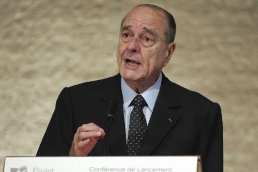 Jacques Chirac... (Photo: AP)