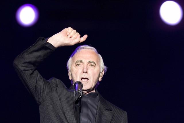 Charles Aznavour sera en spectacle les 21, 22... (Photo: PC)