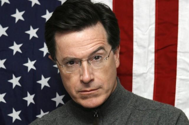 L'humoriste américain Stephen Colbertverra son nom attribué à... (Photo: AP)
