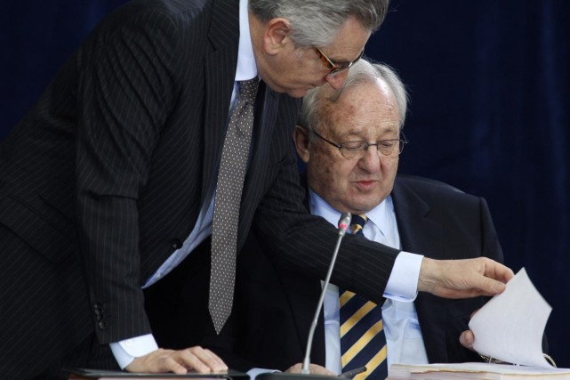 L'avocat principal de la commission, Richard Wolson, indique... (Photo Reuters)