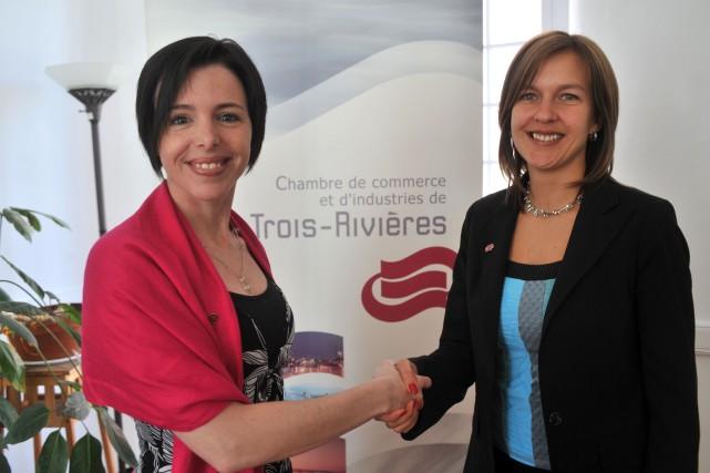Caroline beaudry devient la nouvelle directrice g n rale for Chambre de commerce de trois rivieres