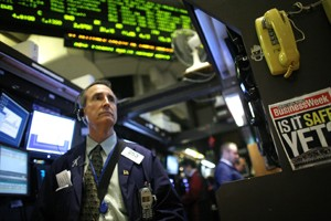 Le Dow Jones a avancé de 95,81 points... (Photo: AP)
