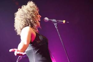 La chanteuse Sylvie Desgroseilliers participe au spectacle.... (Photo: David Cannon)