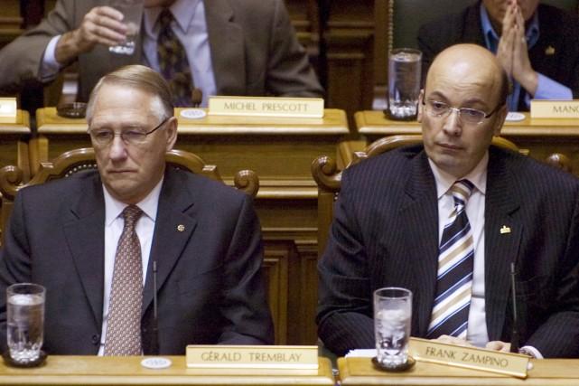 Le maire Gérald Tremblay ne peut forcer Frank... (Archives La Presse)