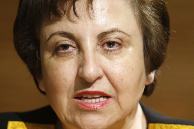 L'Iranienne Shirin Ebadi, Prix Nobel de la paix... (Archives Reuters)