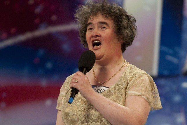 Susan Boyle... (Photo: AFP)