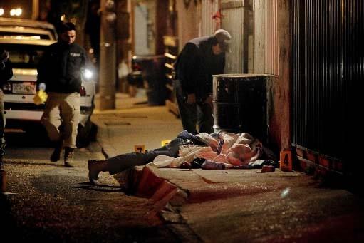 Les meurtres se multiplient à Ciudad Juarez.... (Photo AP/Rodrigo Abd)