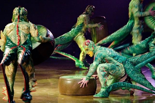 Représentation du prochain spectacle du Cirque du Soleil,... (Photo Alain Roberge / La Presse)
