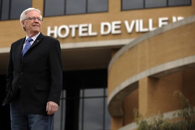 L'ancien maire de Brossard, Paul Leduc.... (Photo: Bernard Brault, La Presse)