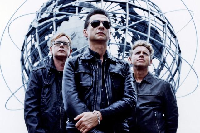 Depeche Mode... (Photo: Anton Borbijn, fournie par EMI)