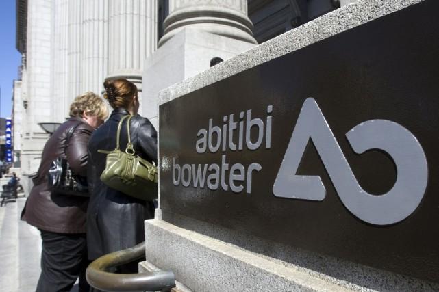 Le géant de l'industrie forestière, AbitibiBowater, a annoncé, au cours du... (Photo: PC)